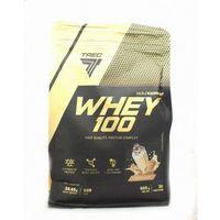 Odżywki białkowe, Trec Gold Core Whey 100 900 g Białko CIASTKO