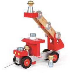 Wóz strażacki z narzędziami Janod J06498