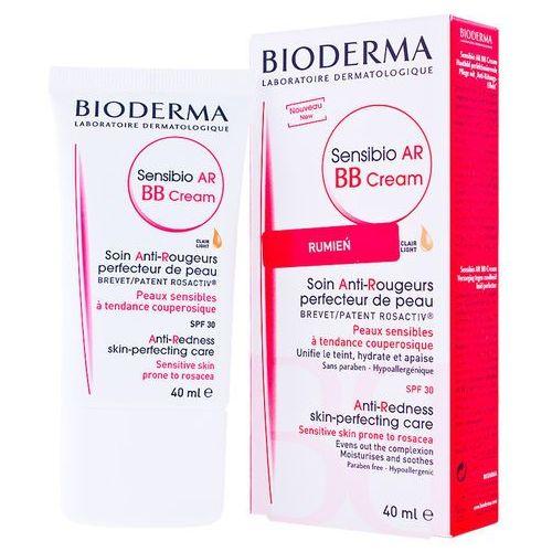 Kremy na dzień, BIODERMA Sensibio AR BB CREAM Krem BB do skóry naczynkowej wrażliwej - na naczynka SPF30 40ml