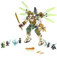 Klocki dla dzieci, LEGO Ninjago 70676 Tytanowy robot Lloyd's