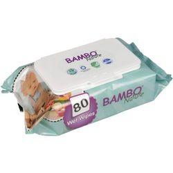 BAMBO Nature Chusteczki nawilżane 80 szt.