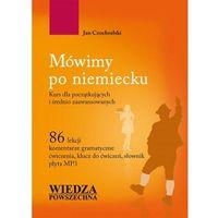 Książki do nauki języka, Mówimy po niemiecku + CD - Jan Czochralski (opr. miękka)