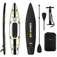 Pozostałe sporty wodne, Gymrex Deska SUP - dmuchana - Wave Line - 120 kg GR-SPB375