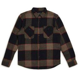koszula BRIXTON - Bowery L/S Flannel Heather Grey/Charcoal (HTGCH) rozmiar: L