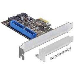 Kontroler Delock PCI Express Card - x2 SATA + IDE (89293) Darmowy odbiór w 21 miastach!