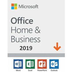 Microsoft Office Home & Business 2019 ESD PL WIN/MAC, Nowa licencja rejestracyjna