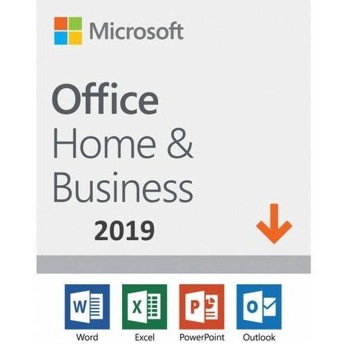 Programy biurowe i narzędziowe, Microsoft Office Home & Business 2019 ESD PL WIN/MAC, Nowa licencja rejestracyjna