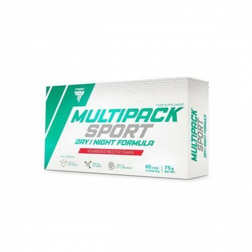 Witaminy i minerały, Trec Multipack Sport Day/Night 60kap