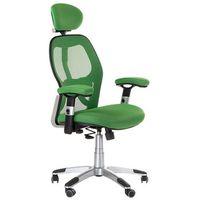 Fotele i krzesła biurowe, Fotel ergonomiczny CorpoComfort BX-4144 Zielony