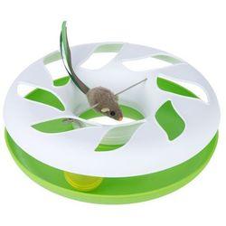 Round About, karuzela dla kota - Biało/zielony| -5% Rabat dla nowych klientów| DARMOWA Dostawa od 99 zł