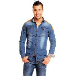 Jeansowa koszula męska Tony Moro
