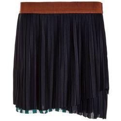 Scotch R'Belle PLISSE STRIPED LAYERED Spódnica plisowana night