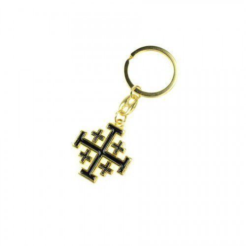 Breloki, Brelok metalowy, Krzyż Jerozolimski