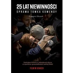 25 lat niewinności. (okładka filmowa) - Głuszak Grzegorz - książka (opr. miękka)