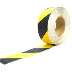 Taśma antypoślizgowa żółto-czarna 5 cm x 18,3 m COBA