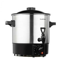 Klarstein Biggie Eco, garnek do pasteryzacji & dozownik napojów 1000 W, 30 – 100 °C, kurek dozownika, 9 l