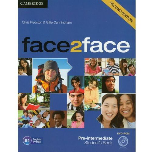 Książki do nauki języka, Face2face Pre-Intermediate Student's Book (opr. miękka)