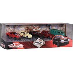 Majorette zestaw rdzawe pojazdy