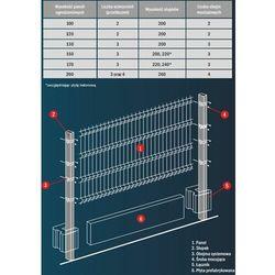 Panel ocynkowany fi 5 Panele ogrodzeniowe