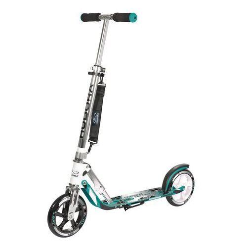 Hulajnogi, HUDORA Hulajnoga Scooter Big Wheel 205 turkusowa 14751