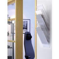 Gabloty reklamowe, Zestaw sześciu pionowych pojemników Durable Flexiboxx A4 przeźroczysty 170976040
