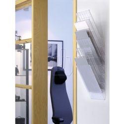 Zestaw sześciu pionowych pojemników Durable Flexiboxx A4 przeźroczysty 170976040