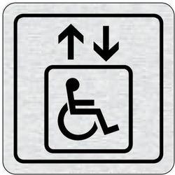 Tabliczka na drzwi -Winda dla niepełnosprawnych