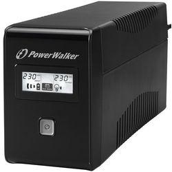 Zasilacz UPS POWERWALKER VI 850 LCD Schuko + DARMOWY TRANSPORT!