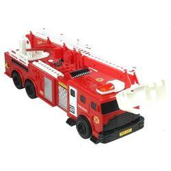 Straż Pożarna Gigant Zestaw Auto helikopter