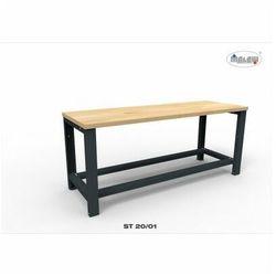 """Stół narzędziowy ST 20/01 """"TRÓJKA"""" do warsztatu metalowy na klucz"""