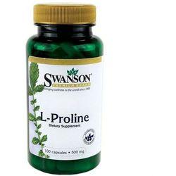 L-Prolina L-Proline 500mg 100 kapsułek SWANSON