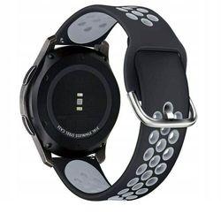 Pasek Softband do Galaxy Watch 3 45mm Black/Grey