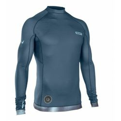 Lycra ION Rashguard Men L/S Dust Blue 2019
