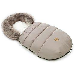 MAMO-TATO Zimowy śpiwór do wózka - Beż