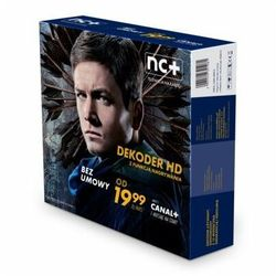 Dekoder NC+ ITI VISION 2851S z usługą telewizja na kartę (130 kanałów,1 m-c na start z Canal +)