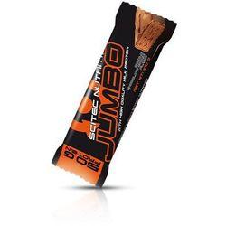 Baton wysokobiałkowy SCITEC Jumbo Bar 100g, Smaki: Dark Chocolate Caramel Crunch Najlepszy produkt Najlepszy produkt tylko u nas!