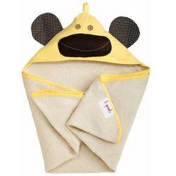 Ręcznik z kapturkiem 3 Sprouts - Żółta Małpka 736211286291