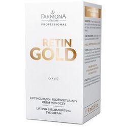 Farmona Retin Gold Liftingujący - rozświetlający krem pod oczy 50ml
