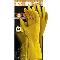 Rękawice ochronne z lateksu flokowane RFROSE konfekcjonowane