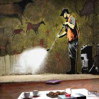 Fototapety, Fototapeta Banksy - Cave Painting h-A-0041-a-a