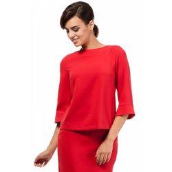 Moe MOE190 bluzka czerwona