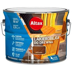ALTAX- lakierobejca do drewna, palisander, 2.5 l