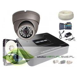 Zestaw pełny: Rejestrator GS-M1004NH-V2 + Kamera GS-CMD4-V + Dysk 500 GB
