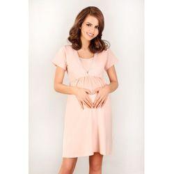 Koszulka ciążowa line 3032 k rozmiar: 36, kolor: morelowy, lupo marki Lupo