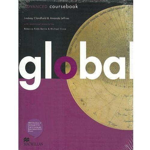 Książki do nauki języka, Global Advanced Student's Book (podręcznik) with eWorkbook (opr. miękka)