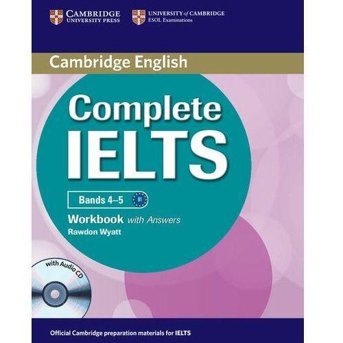 Książki do nauki języka, Complete IELTS Bands 4-5 Zeszyt Ćwiczeń z Odpowiedziami Plus Audio CD (opr. miękka)