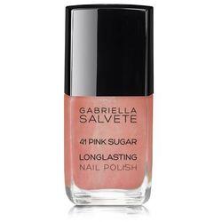 Gabriella Salvete Longlasting Enamel lakier do paznokci 11 ml dla kobiet 41 Pink Sugar
