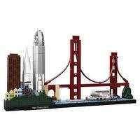 Klocki dla dzieci, LEGO Architecture 6250896 San Francisco