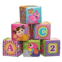 Pozostałe zabawki dla najmłodszych, Miękkie klocuszki piankowe 343382