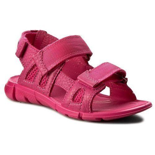 Sandały dziecięce, Sandały ECCO - Intrinsic Sandal 70555250229 Beetroot/Beetroot